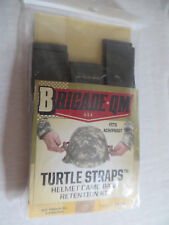 Turtle Straps Camo Band Retention Kit System US PASGT ACH Helmet foliage green