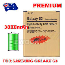 High Quality Glod 3800mAh Replacement Battery Li-ion For Samsung Galaxy S3 I9300