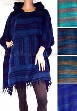 Poncho Jumpers & Cardigans Striped Sleeveless for Women