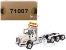 INTERNATIONAL HX620 DAY CAB TRIDEM TRACTOR WHITE 1/50 BY DIECAST MASTERS 71007