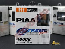 Piaa H1 Xtreme White Plus Halogen Replacement Bulbs Twin Pack 11655