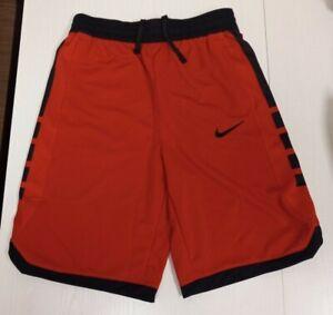 Nike BOYS YouthTraining Basketball Gym Dri-fit Elite Shorts DB5543-657 Red - NEW