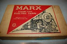 Vintage Louis Marx Steam Type Electric Train Set in original box WORKS !!!
