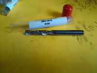 .1360 #29 SOLID CARBIDE 15DEG HELIX 135DEG SPLIT PT SCREW MACHINE DRILL BIT