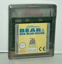 BEAR IN THE BIG BLUE HOUSE GIOCO USATO GAMEBOY COLOR EDIZIONE EUROPEA GD1 43247