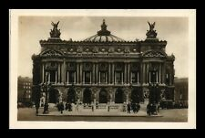 DR JIM STAMPS OPERA HOUSE PARIS FRANCE REAL PHOTO RPPC VIEW POSTCARD