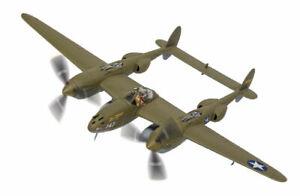 Corgi AA36615 1:72 Lockheed P-38G Lightning 43-2264 Miss Virginia Diecast Model