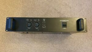 Matrix M300 Power Amplifier MOS FET - Exceptional Condition, very light use.