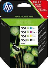 Genuine HP 950XL / 951XL Multipack Ink Cartridges C2P43AE