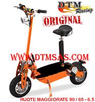 Monopattino Scooter Elettrico EU Version 500 A 1200w Original DTM Racing GIALLO