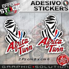 Adesivi / Stickers DAKAR PARIS HONDA AFRICA TWIN NXR 750 HRC 2.PZ H.QUALITY!