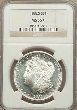 1882-S $1 MS65 STAR NGC - Extremely Attractive Specimen (1105)++