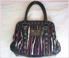 BETSEYVILLE by Betsey Johnson Animal Print Satchel Hand Bag Zebra Tiger Stripe