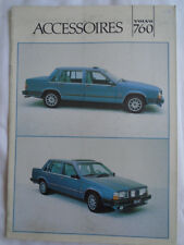 Volvo 760 Accessories range brochure c1980's Dutch? text