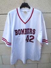 Maillot Baseball BOMBERSE OWEN n°42 vintage shirt jersey ancien XL