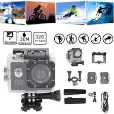 "2.0"" 5MP HD 1080P 32GB Waterproof Action Camcorder Sports DV Camera Car Dash Cam"