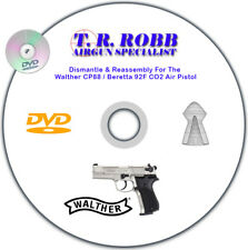 Walther CP88 / Beretta 92F CO2 Air Pistol Dismantle & Reassembly DVD by T.R.Robb
