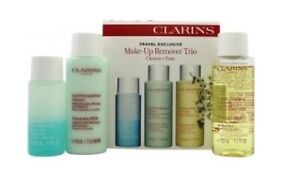 Clarins Make Up Removal Trio 30ml Instant Eye Make Up Remover + 50ml Cleansing M