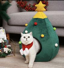 Katzenhaus Bett Weihnachtsbaum Höhle Schlafbett Haustier Katzen Hunde Christmas