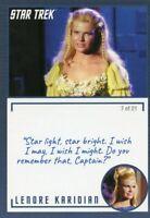 Star Trek TOS Archives & Inscriptions card #27 Lenore Karidian Variation 7 of 21