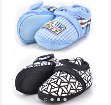 KidLand's Baby Shoes Set of 2 pairs