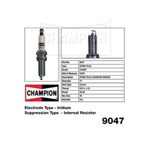 9047 Iridium Spark Plug for HYUNDAI I45 YF IX35 LM VELOSTER FS