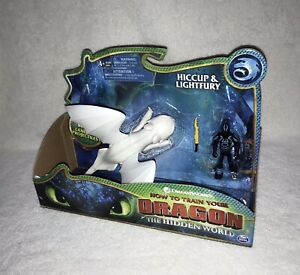 HOW TO TRAIN YOUR DRAGON - SPIN MASTER TOYS - NEW - FIGURES - HICCUP & LIGHTFURY