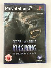 PS2 Peter Jackson's King Kong (2005), UK Pal, Brand New & Factory Sealed