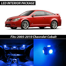 2005-2010 Chevrolet Cobalt Blue Interior LED Lights Package Kit