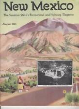 1931 AUGUST NEW MEXICO MAGAZINE   FORT UNION   SANTA FE