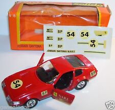 ORIGINAL RARE SOLIDO FERRARI DAYTONA 365 GTB4 NART N°54 REF 16 1977 1/43 IN BOX
