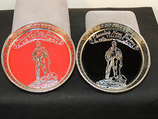 Lincoln's New Salem Illinois Coaster Set  made in japan Set of 2 (6418)