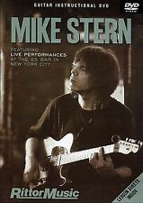 Mike Stern Guitar Instructional Learn to Play Lesson Jazz Tutor Music DVD