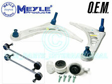 MEYLE Germany BMW E46 3 Series Front 2x WISHBONES ARMS BUSHES & LINK RODS Pair