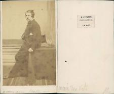 Verveer, La Haye, Johan Mari Henri ten Kate, peintre CDV, vintage albumen carte