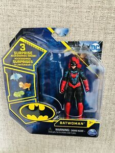 """Spin Master DC Batwoman Caped Crusader 4"""" Action Figure 2021 Series Tech Suit"""