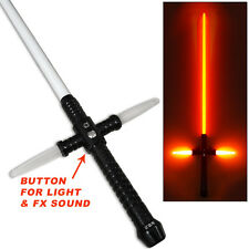 Kylo Ren SFX LightSaber RARE Star Wars RECHARGEABLE Metal Motion Sound Active