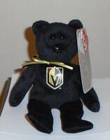 Ty Beanie Baby - LAS VEGAS GOLDEN KNIGHTS NHL Hockey Bear (8 Inch) NEW MWMT