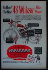 1948 WHIZZER Bike Motor Engine vintage AD