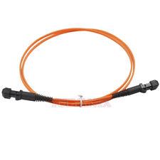 3 Meter MTRJ-MTRJ 10GB Duplex  50/125 MM Multimode Fiber Optic Patch Cord