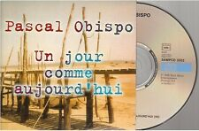 PASCAL OBISPO un jour comme aujourd'hui CD PROMO