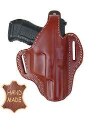 Para pistola-Universal-Braun-para GR. pistolas (hk30/p99) - cuero-a mano