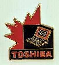 Vintage Toshiba ISG Canada Pin Information Services Group Laptop Tech Computer