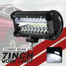 7inch 500W LED Work Light Bar Flood Spot Beam Offroad 4WD SUV Driving Fog Lamp