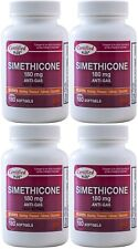Simethicone 180 mg Gas Relief Generic for Phazyme Ultra Strength 720 Gelcaps