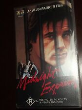 Midnight Express VHS Brad Davis John Hurt 1994 Excellent Condition RARE