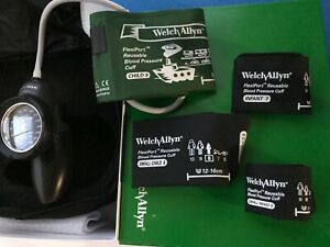 Welch Allyn Family Practice Blood Pressure Cuff Kit set Flexi port Cuff Ds58-PD