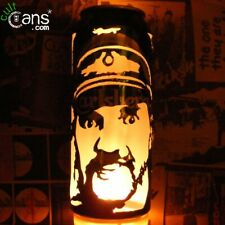 Lemmy Kilmister Beer Can Lantern! Motorhead, Hawkwind Pop Art Portrait Lamp