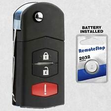 For 06 2007 2008 2009 2010 2011 2012 2013 2014 2015 Mazda 5 Flip Remote Key Fob