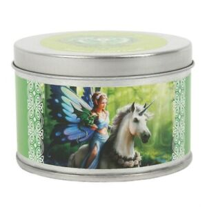 REALM OF ENCHANTMENT CANDLE BY ANNE STOKES, JASMINE SCENT, UNICORN